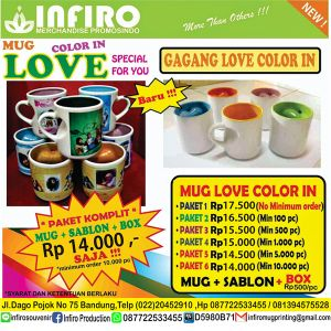 MUG LOVE COLOR IN